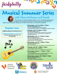 jkidphilly: Musical Summer Series